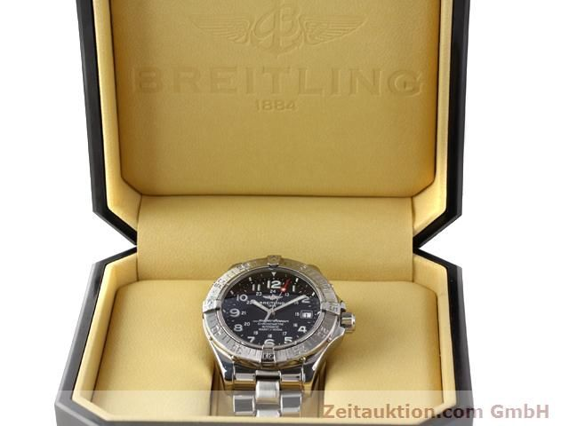 Used luxury watch Breitling Superocean steel automatic Kal. ETA 2824-2 Ref. A17360  | 140385 07