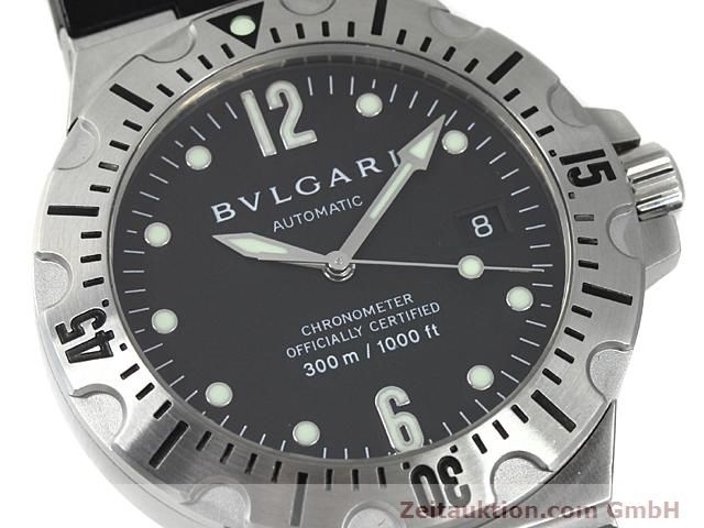 Used luxury watch Bvlgari Diagono steel automatic Kal. 220TEEM Ref. SD40S  | 140388 02