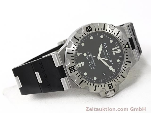 Used luxury watch Bvlgari Diagono steel automatic Kal. 220TEEM Ref. SD40S  | 140388 03