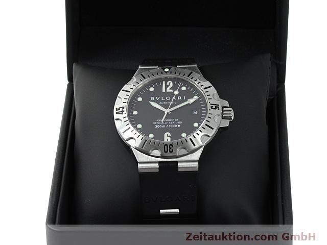 Used luxury watch Bvlgari Diagono steel automatic Kal. 220TEEM Ref. SD40S  | 140388 07