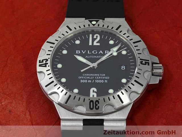 Used luxury watch Bvlgari Diagono steel automatic Kal. 220TEEM Ref. SD40S  | 140388 14
