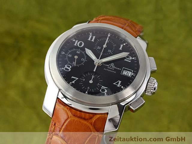 Used luxury watch Baume & Mercier Capeland steel automatic Kal. BM 15750 (ETA 7750) Ref. MV045216  | 140389 04