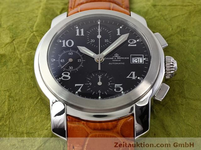 Used luxury watch Baume & Mercier Capeland steel automatic Kal. BM 15750 (ETA 7750) Ref. MV045216  | 140389 15