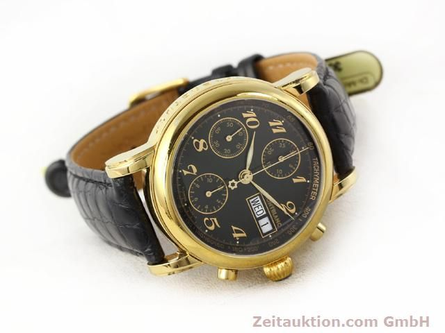 Used luxury watch Montblanc Meisterstück gold-plated automatic Kal. 4810501 ETA 7750 Ref. 7016  | 140390 03
