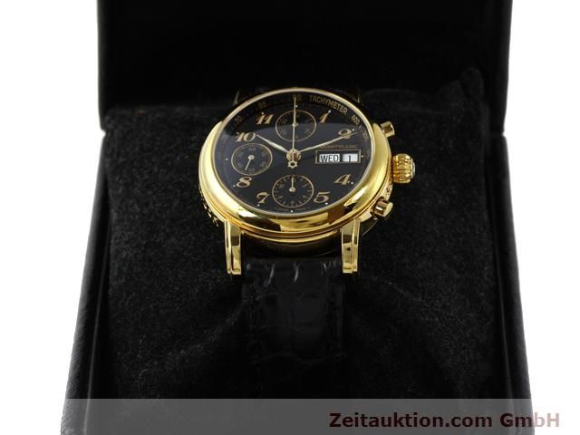 Used luxury watch Montblanc Meisterstück gold-plated automatic Kal. 4810501 ETA 7750 Ref. 7016  | 140390 07