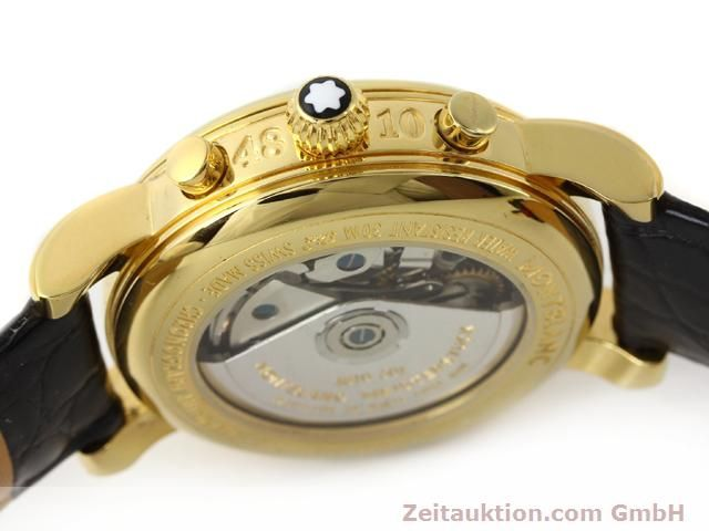 Used luxury watch Montblanc Meisterstück gold-plated automatic Kal. 4810501 ETA 7750 Ref. 7016  | 140390 08