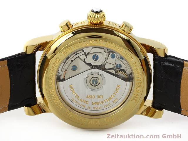 Used luxury watch Montblanc Meisterstück gold-plated automatic Kal. 4810501 ETA 7750 Ref. 7016  | 140390 09