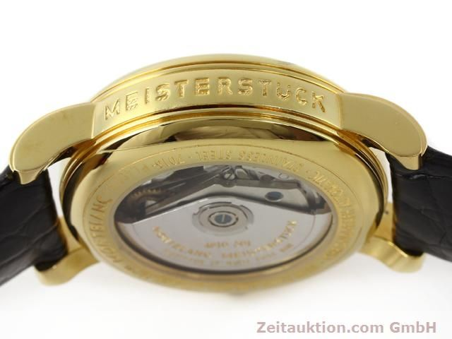 Used luxury watch Montblanc Meisterstück gold-plated automatic Kal. 4810501 ETA 7750 Ref. 7016  | 140390 11