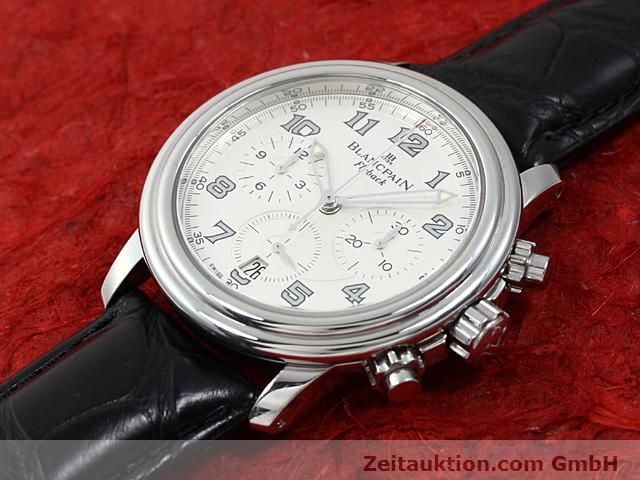 Used luxury watch Blancpain Leman steel automatic Kal. F185  | 140391 01