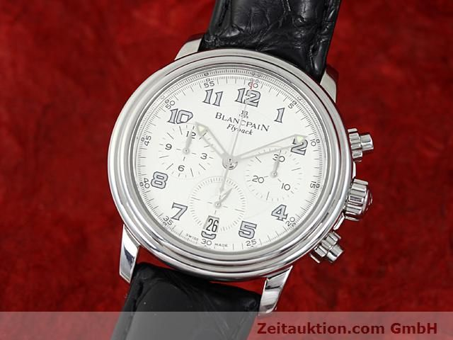 Used luxury watch Blancpain Leman steel automatic Kal. F185  | 140391 04