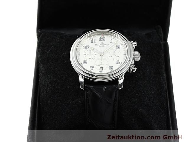 Used luxury watch Blancpain Leman steel automatic Kal. F185  | 140391 07