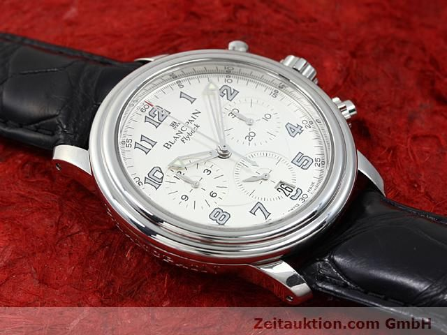 Used luxury watch Blancpain Leman steel automatic Kal. F185  | 140391 14
