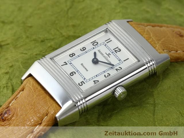 Used luxury watch Jaeger Le Coultre Reverso steel manual winding Kal. 890 Ref. 260.8.86  | 140393 01
