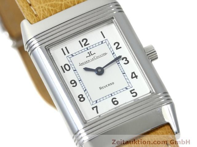 Used luxury watch Jaeger Le Coultre Reverso steel manual winding Kal. 890 Ref. 260.8.86  | 140393 02