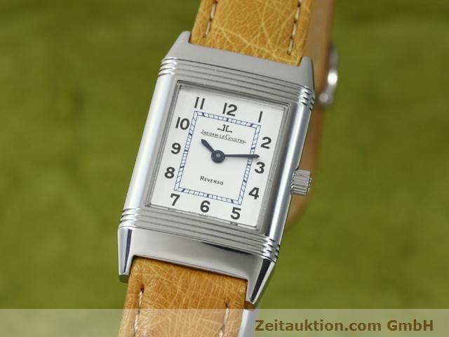 Used luxury watch Jaeger Le Coultre Reverso steel manual winding Kal. 890 Ref. 260.8.86  | 140393 04