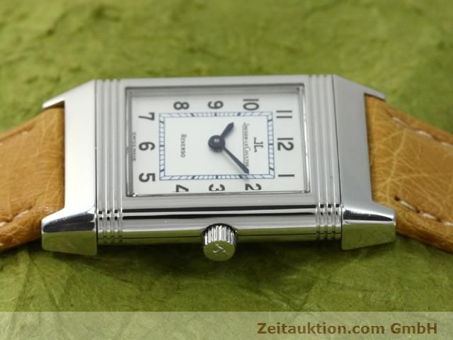 Used luxury watch Jaeger Le Coultre Reverso steel manual winding Kal. 890 Ref. 260.8.86  | 140393 05