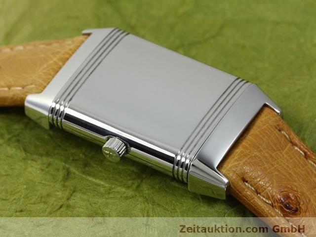 Used luxury watch Jaeger Le Coultre Reverso steel manual winding Kal. 890 Ref. 260.8.86  | 140393 12
