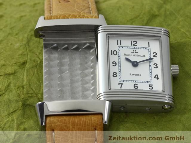 Used luxury watch Jaeger Le Coultre Reverso steel manual winding Kal. 890 Ref. 260.8.86  | 140393 13