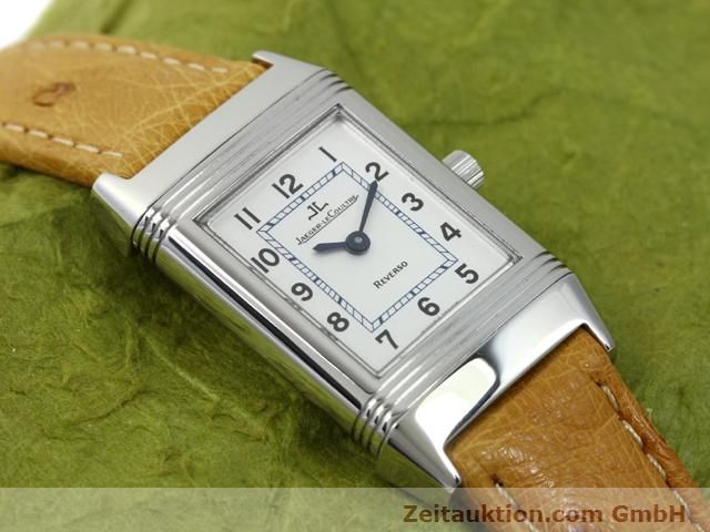 Used luxury watch Jaeger Le Coultre Reverso steel manual winding Kal. 890 Ref. 260.8.86  | 140393 14