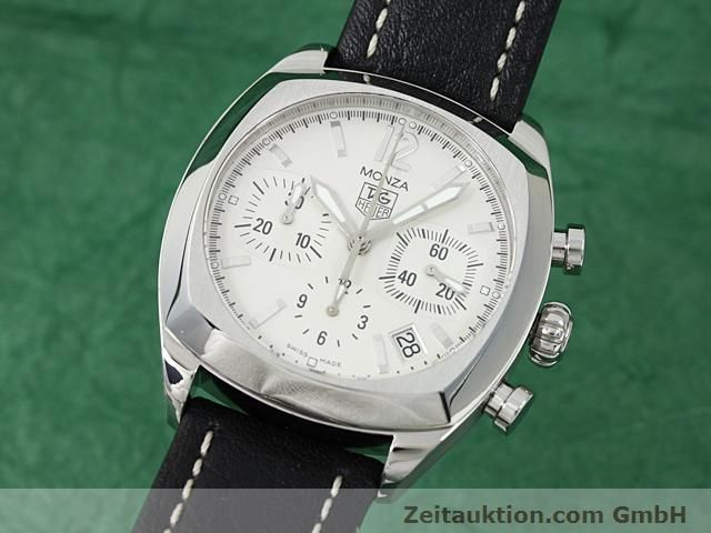 Used luxury watch Tag Heuer Monza steel automatic Ref. CR 2114-0  | 140396 04