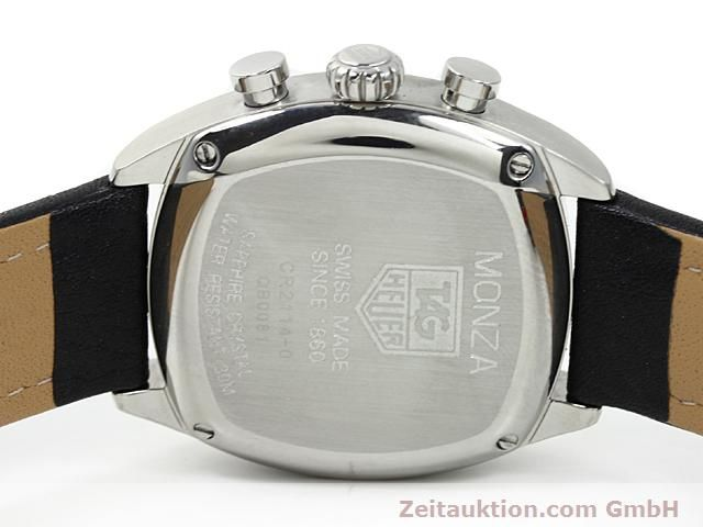 Used luxury watch Tag Heuer Monza steel automatic Ref. CR 2114-0  | 140396 09