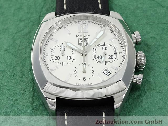 Used luxury watch Tag Heuer Monza steel automatic Ref. CR 2114-0  | 140396 13