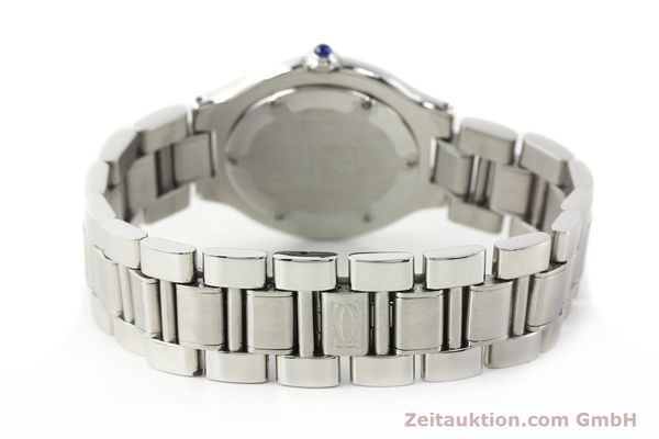 Used luxury watch Cartier Ligne 21 steel quartz Kal. 690 Ref. 1330  | 140398 10