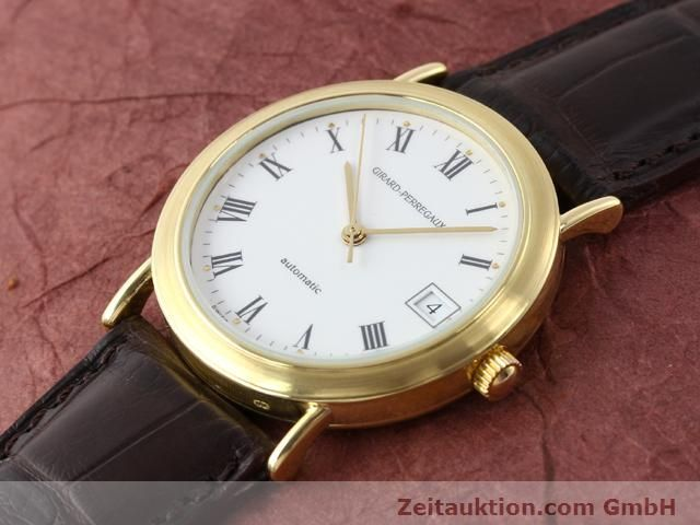 Used luxury watch Girard Perregaux * 18 ct gold automatic Kal. 2200 Ref. 4799.51  | 140400 01