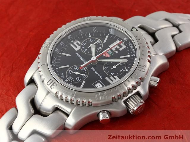 Used luxury watch Tag Heuer Professional steel quartz Kal. 251262 Ref. CT1111  | 140405 01