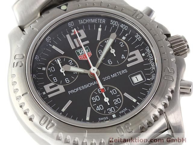 Used luxury watch Tag Heuer Professional steel quartz Kal. 251262 Ref. CT1111  | 140405 02