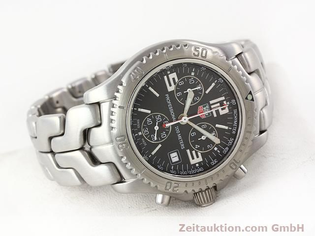 Used luxury watch Tag Heuer Professional steel quartz Kal. 251262 Ref. CT1111  | 140405 03
