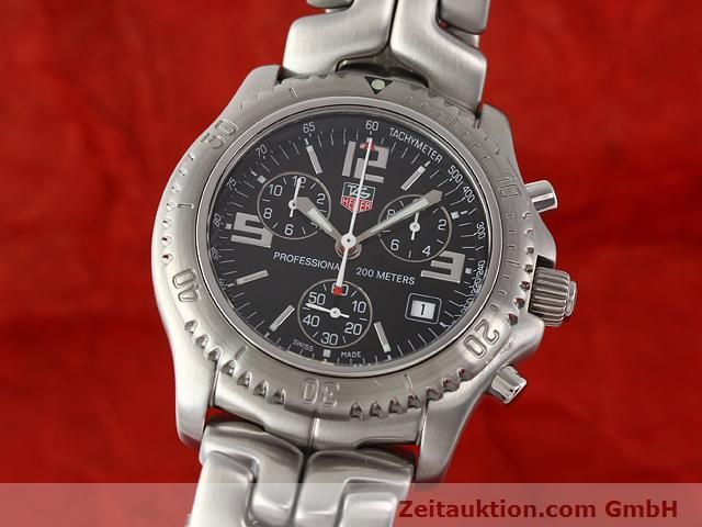 Used luxury watch Tag Heuer Professional steel quartz Kal. 251262 Ref. CT1111  | 140405 04