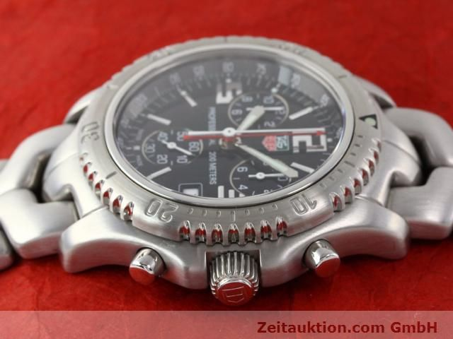Used luxury watch Tag Heuer Professional steel quartz Kal. 251262 Ref. CT1111  | 140405 05