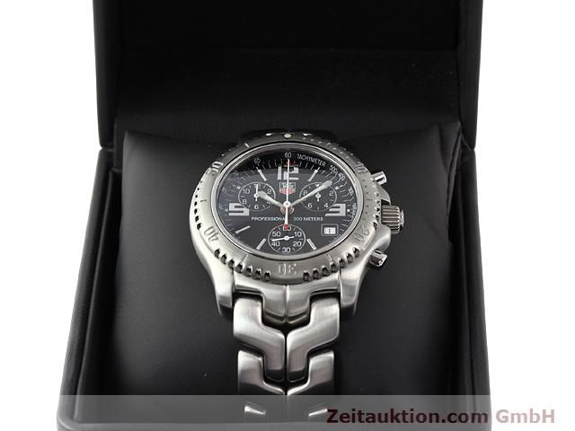 Used luxury watch Tag Heuer Professional steel quartz Kal. 251262 Ref. CT1111  | 140405 07