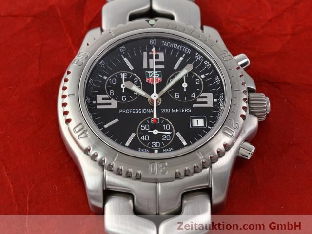 Used luxury watch Tag Heuer Professional steel quartz Kal. 251262 Ref. CT1111  | 140405 13