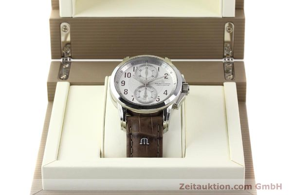 Used luxury watch Maurice Lacroix Pontos steel automatic Kal. ETA 7750 Ref. PT7538/48  | 140407 07