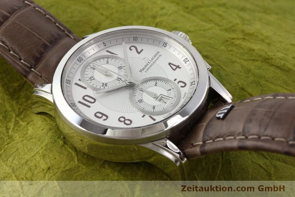 Used luxury watch Maurice Lacroix Pontos steel automatic Kal. ETA 7750 Ref. PT7538/48  | 140407 17