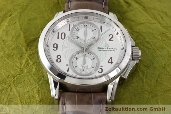 Used luxury watch Maurice Lacroix Pontos steel automatic Kal. ETA 7750 Ref. PT7538/48  | 140407 18