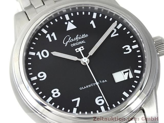 Used luxury watch Glashütte Senator steel automatic Kal. GUB 38-42  | 140408 02