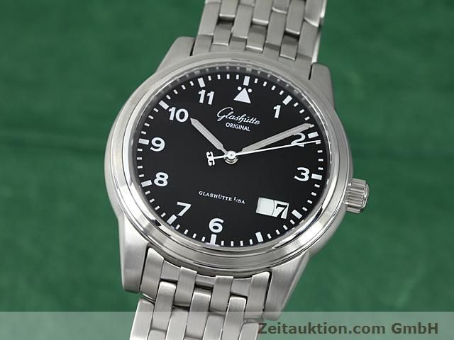 Used luxury watch Glashütte Senator steel automatic Kal. GUB 38-42  | 140408 04