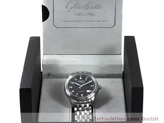 Used luxury watch Glashütte Senator steel automatic Kal. GUB 38-42  | 140408 07