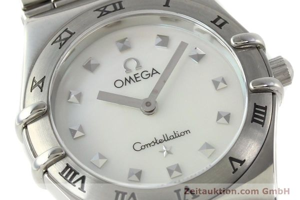montre de luxe d occasion Omega Constellation acier quartz  | 140411 02