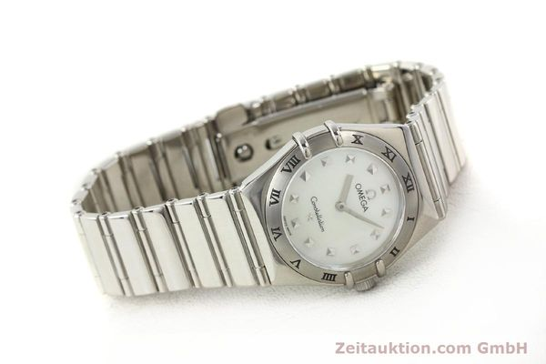 montre de luxe d occasion Omega Constellation acier quartz  | 140411 03