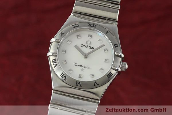 montre de luxe d occasion Omega Constellation acier quartz  | 140411 04