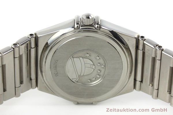 montre de luxe d occasion Omega Constellation acier quartz  | 140411 09