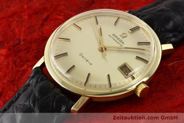 Used luxury watch Omega * 14 ct yellow gold automatic Kal. 565 Ref. 1627037  | 140413 01