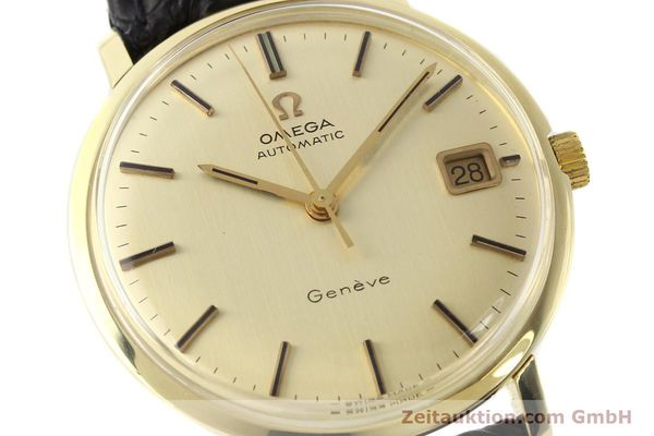 Used luxury watch Omega * 14 ct yellow gold automatic Kal. 565 Ref. 1627037  | 140413 02