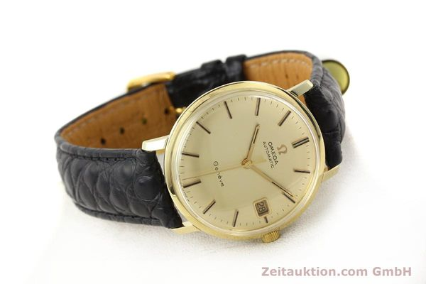 Used luxury watch Omega * 14 ct yellow gold automatic Kal. 565 Ref. 1627037  | 140413 03