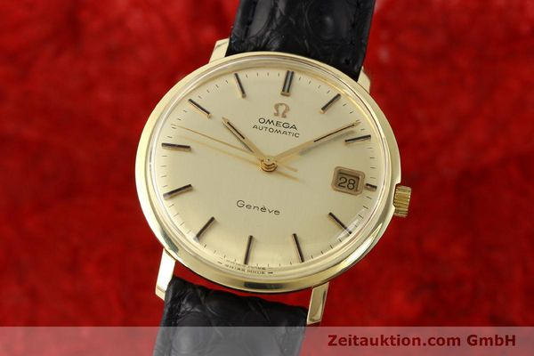 Used luxury watch Omega * 14 ct yellow gold automatic Kal. 565 Ref. 1627037  | 140413 04