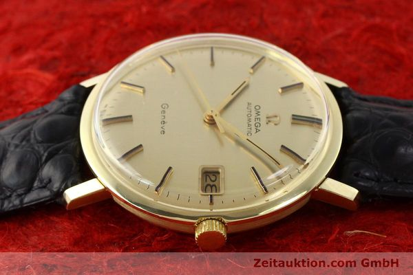 Used luxury watch Omega * 14 ct yellow gold automatic Kal. 565 Ref. 1627037  | 140413 05